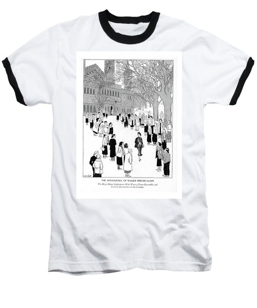 The Renascence Of Rugged Individualism  The Bryn Baseball T-Shirt