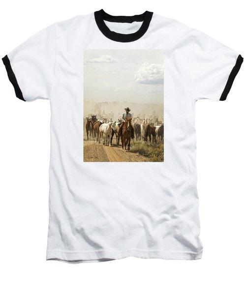The Road Home 2013 Baseball T-Shirt by Joan Davis