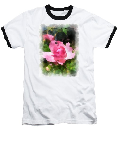 The Rose Baseball T-Shirt by Kerri Farley