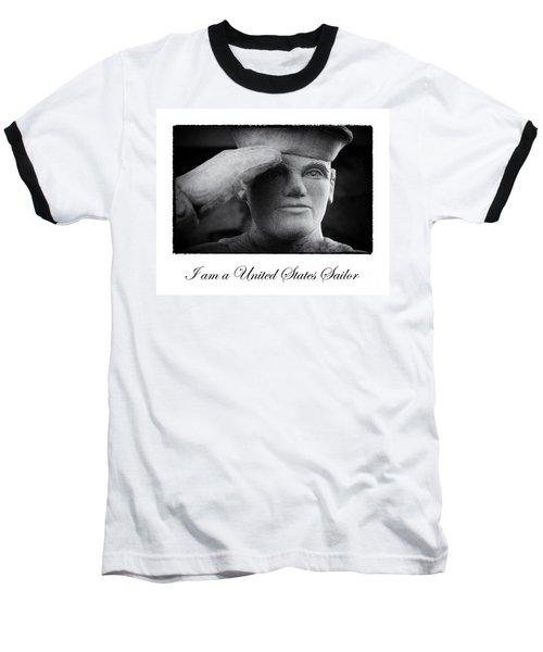 The Sailors Creed Baseball T-Shirt