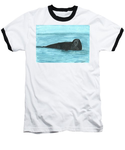 The Seal Baseball T-Shirt by Tracey Williams