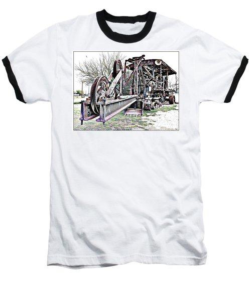 The Steam Shovel Baseball T-Shirt