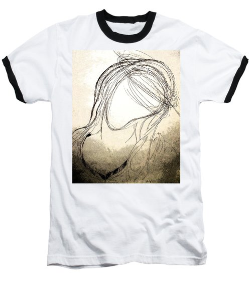 The Virgin Mary V Baseball T-Shirt
