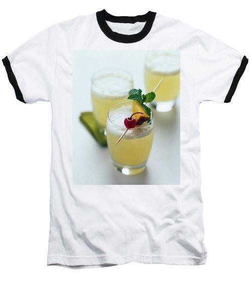The Wahine Cocktail Baseball T-Shirt