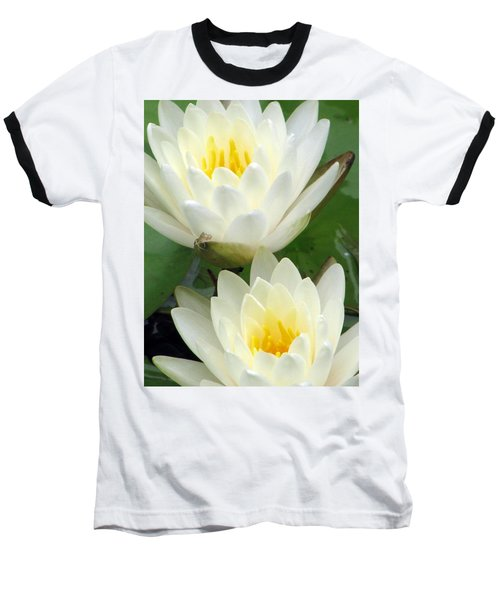Baseball T-Shirt featuring the photograph The Water Lilies Collection - 09 by Pamela Critchlow