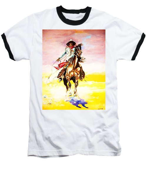 The Way Of The Vaquero Baseball T-Shirt