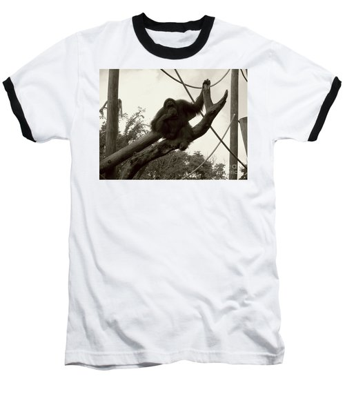 Baseball T-Shirt featuring the photograph Thinking Of You Sepia by Joseph Baril