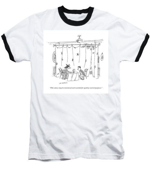 This Seance May Be Monitored And Recorded Baseball T-Shirt