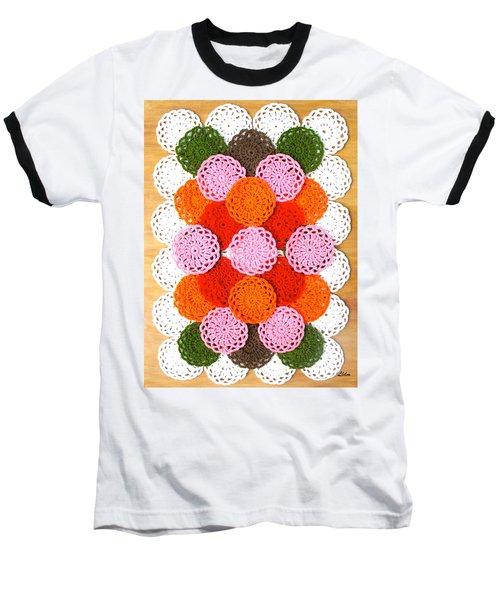 Thread On Canvas Baseball T-Shirt
