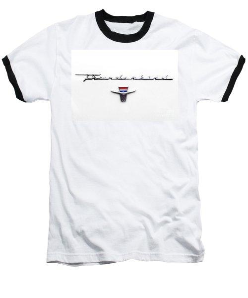 Thunderbird Tag Baseball T-Shirt by Jerry Fornarotto
