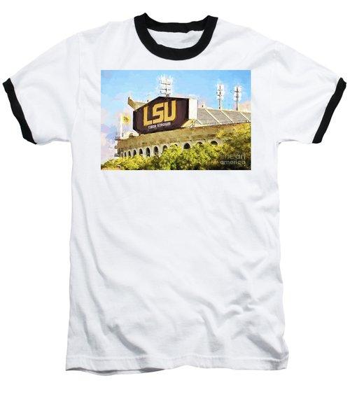 Tiger Stadium - Bw Baseball T-Shirt