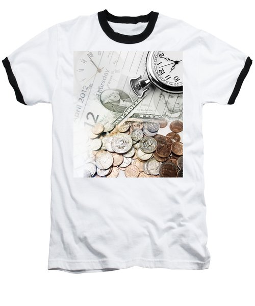 Time Is Money Concept Baseball T-Shirt