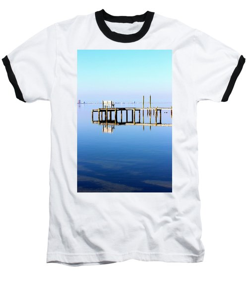 Time To Reflect Baseball T-Shirt by Faith Williams