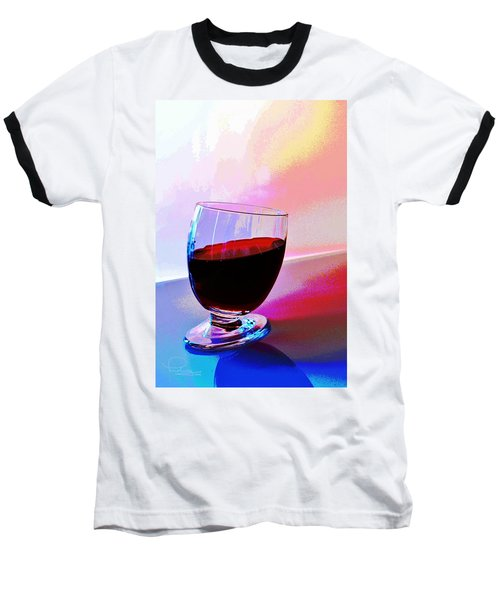 Baseball T-Shirt featuring the photograph Tipsy by Ludwig Keck