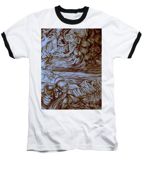Titan In Desert Baseball T-Shirt