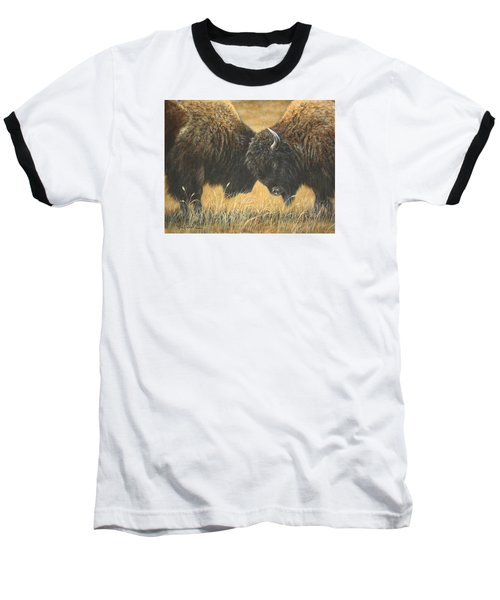 Titans Of The Plains Baseball T-Shirt