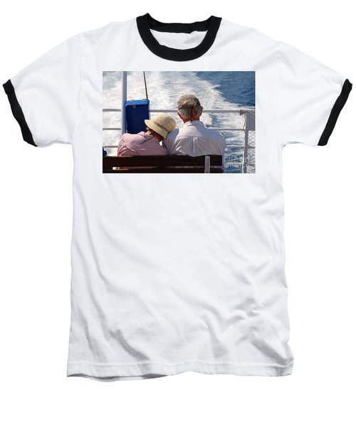 Together In Greece Baseball T-Shirt