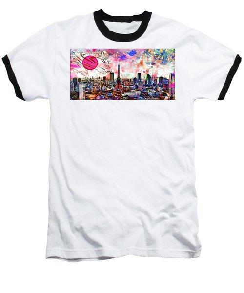 Tokyo Metropolis Baseball T-Shirt by Daniel Janda