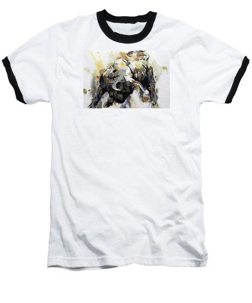 Toro 2 Baseball T-Shirt by J- J- Espinoza