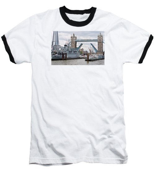 Tower Bridge Opens Baseball T-Shirt