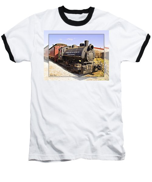 Train Baseball T-Shirt