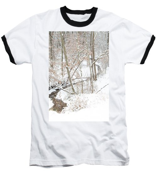 Tranquil Winters Creek Baseball T-Shirt