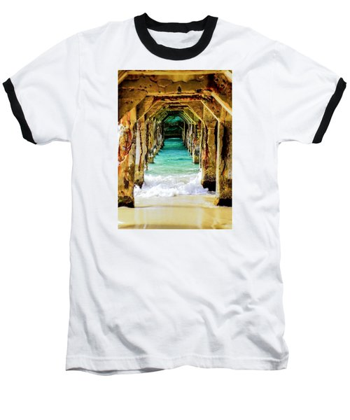 Tranquility Below Baseball T-Shirt
