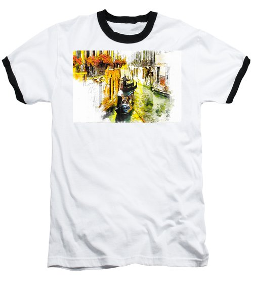 Tranquillity Baseball T-Shirt by Greg Collins