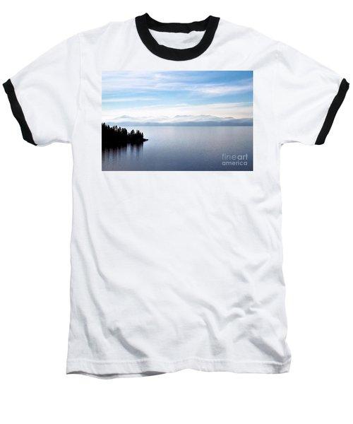 Tranquility - Lake Tahoe Baseball T-Shirt