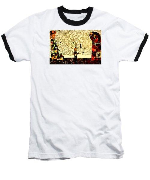 Tree Of Life Baseball T-Shirt by Henryk Gorecki