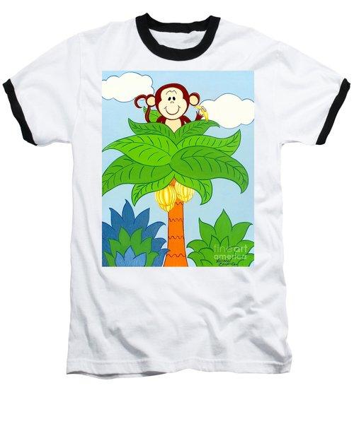 Tree Top Monkey Baseball T-Shirt