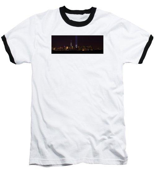Tribute In Light 9.11 Baseball T-Shirt