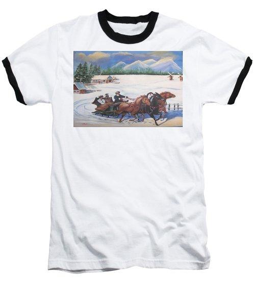 Troika Baseball T-Shirt by Catherine Swerediuk