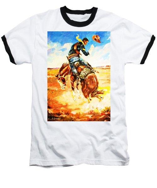 Trooper On A Skiddish Mount Baseball T-Shirt