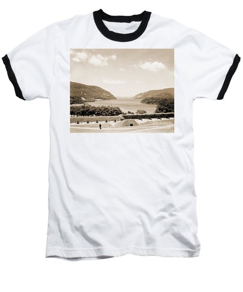 Trophy Point North Fro West Point In Sepia Tone Baseball T-Shirt