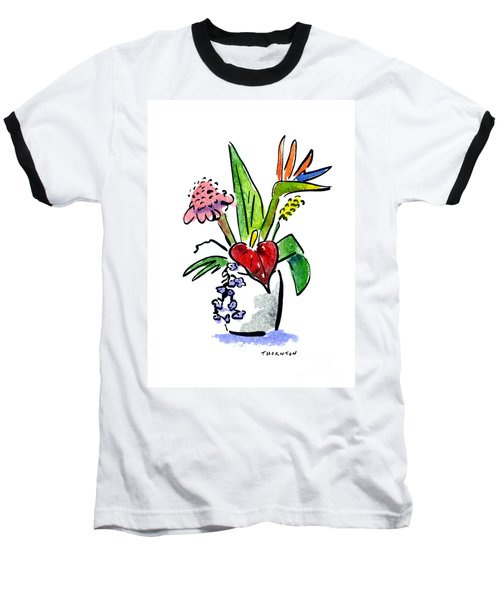 Tropical Mix Baseball T-Shirt