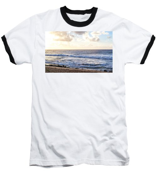 Baseball T-Shirt featuring the photograph Tropical Morning  by Roselynne Broussard