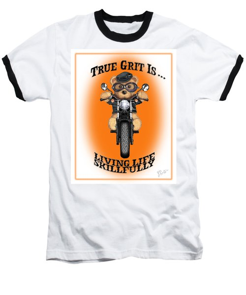 True Grit Baseball T-Shirt by Jerry Ruffin