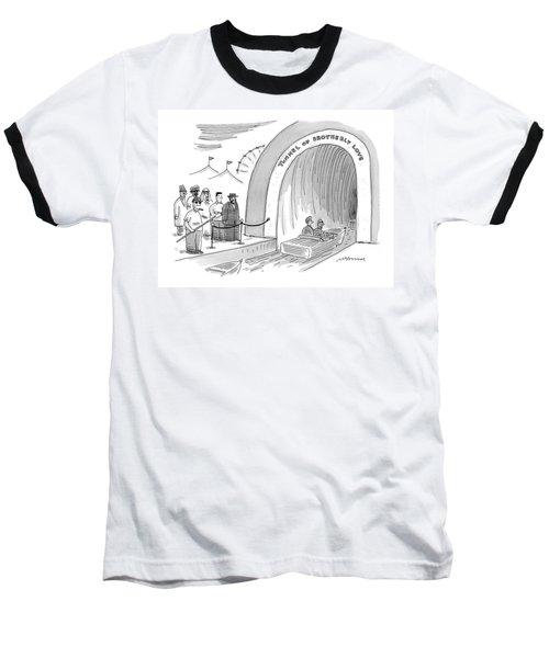 'tunnel Of Brotherly Love' Baseball T-Shirt