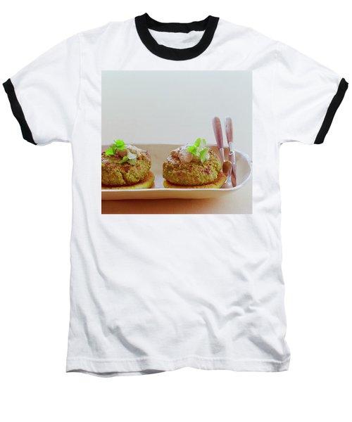Turkish Style Lamb Burgers Baseball T-Shirt