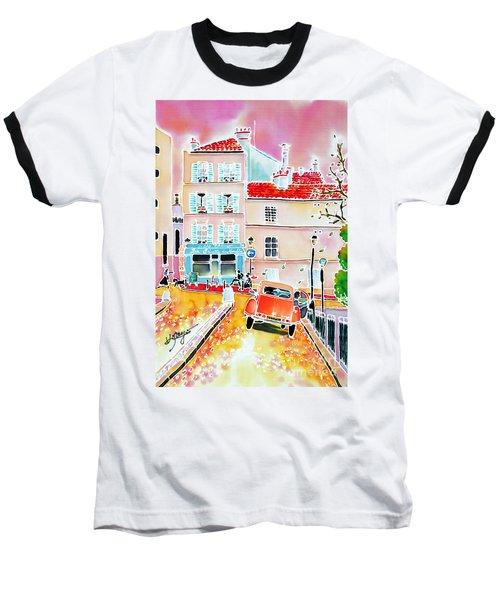 Twilight Montmartre Baseball T-Shirt
