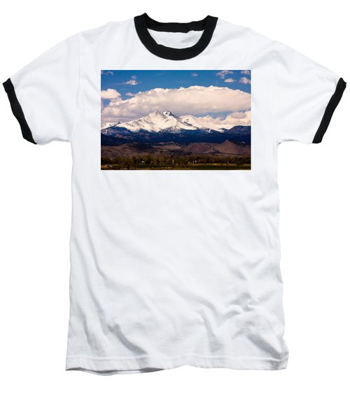Twin Peaks Snow Covered Baseball T-Shirt