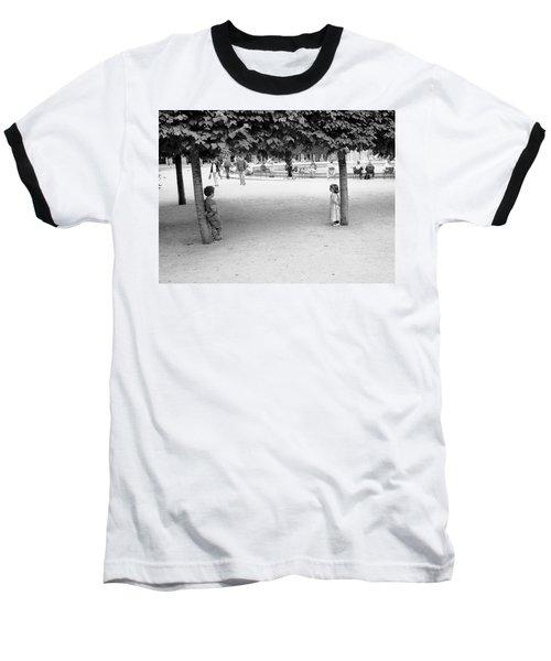 Two Kids In Paris Baseball T-Shirt