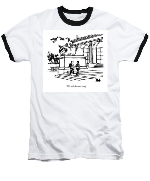 Two Men Walk Into A Library.  There Is An Baseball T-Shirt