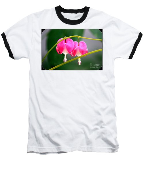Baseball T-Shirt featuring the photograph Two Of Hearts by Patti Whitten