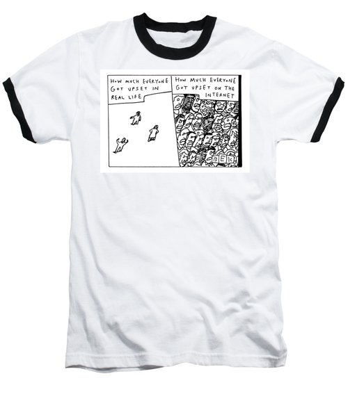 Two Panels How Much Everyone Got Upset In Real Baseball T-Shirt