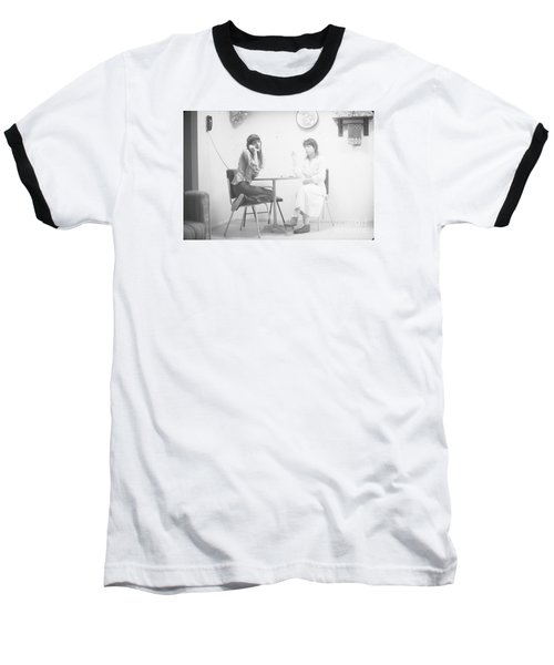 Baseball T-Shirt featuring the photograph Two Sisters Project 12 by Steven Macanka