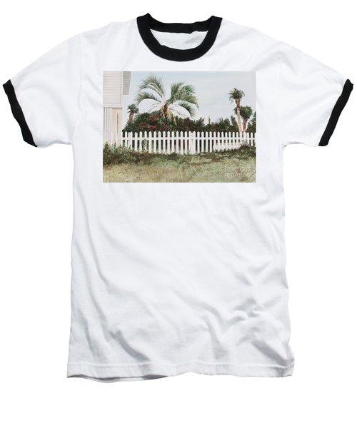 Tybee Island Roses Baseball T-Shirt