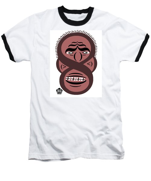 Typortraiture Obama Baseball T-Shirt