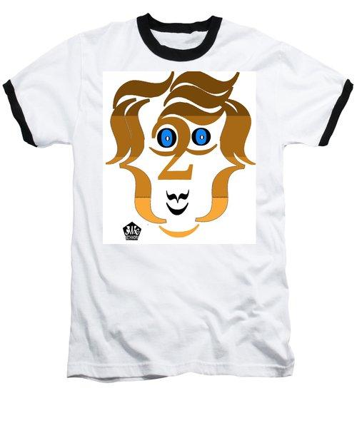 Typortraiture Paul Mccartney Baseball T-Shirt